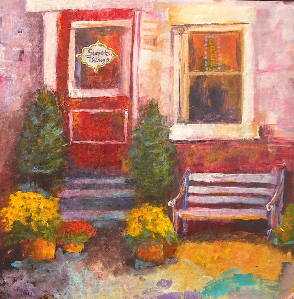 """""""Sweet things"""" original fine art by Kathleen Barnes"""