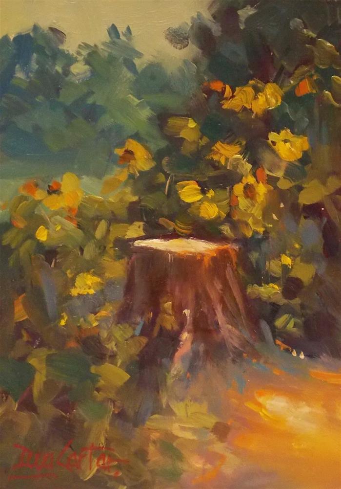 """""""NEW LIFE"""" original fine art by Doug Carter"""