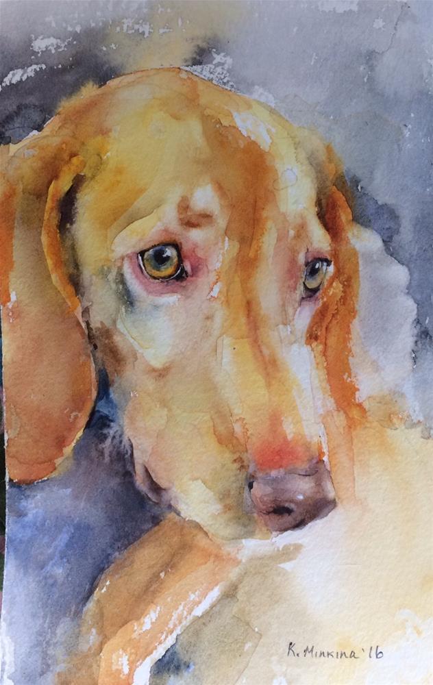 """adopt219"" original fine art by Katya Minkina"
