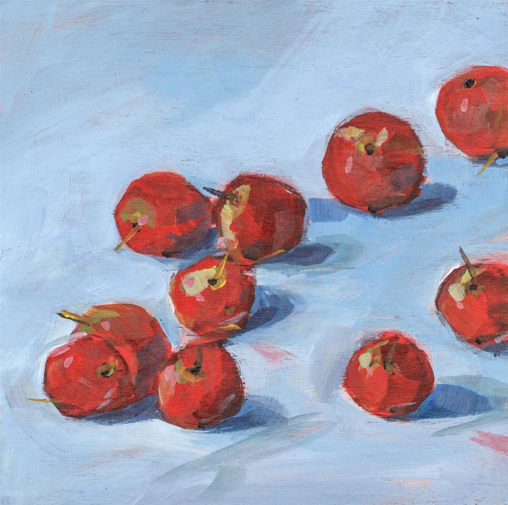 """0659: Little Lady Apple"" original fine art by Brian Miller"