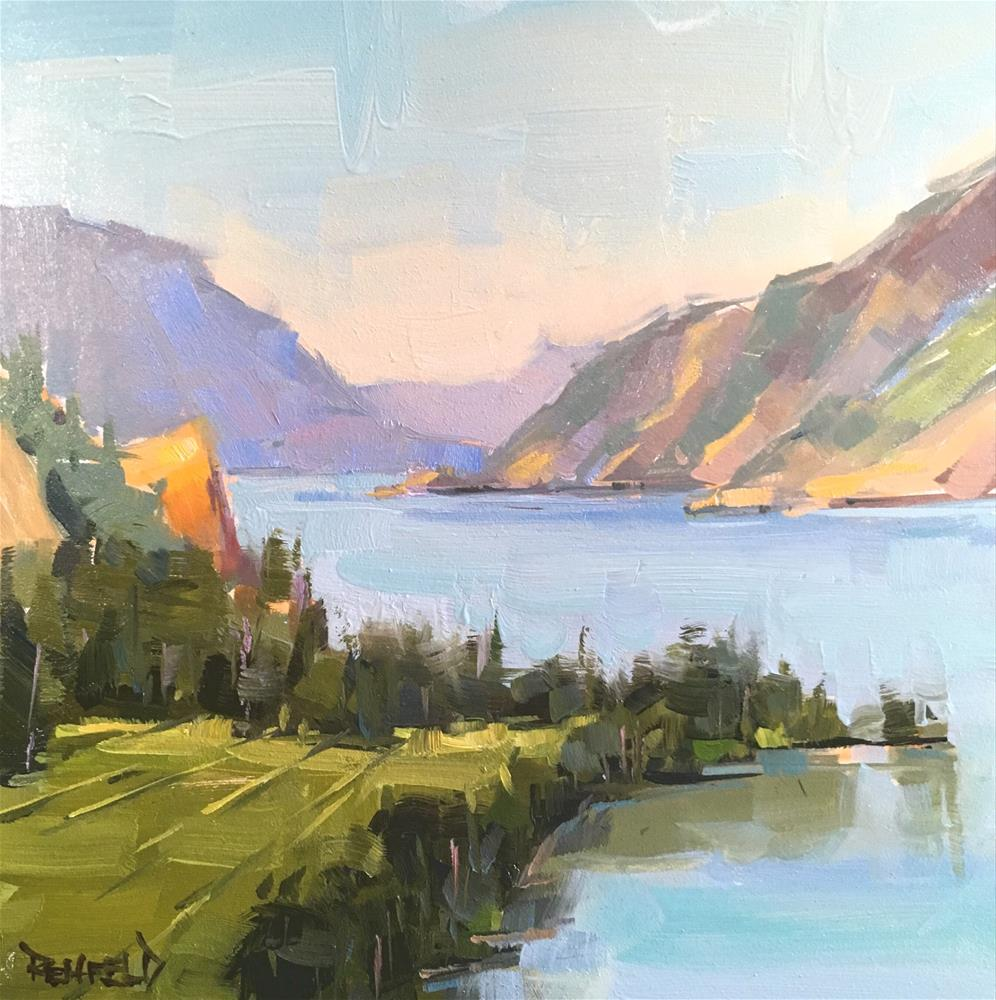 """Beautiful Gorge"" original fine art by Cathleen Rehfeld"