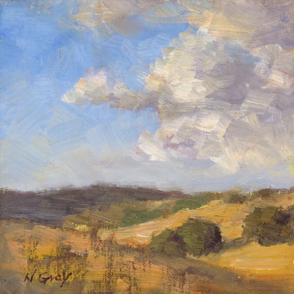 """""""After the Storm"""" original fine art by Naomi Gray"""