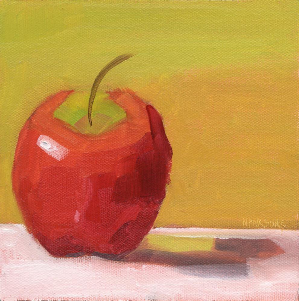 """The Bare Facts"" original fine art by Nancy Parsons"
