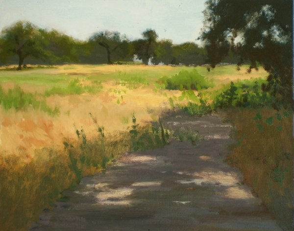 """End of the Trail"" original fine art by Weston Hobdy"
