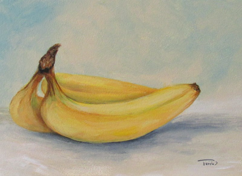 """Bananas VI"" original fine art by Torrie Smiley"