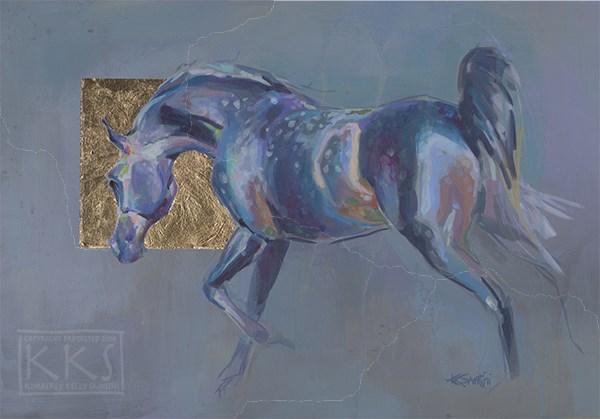 """Dapples"" original fine art by Kimberly Santini"