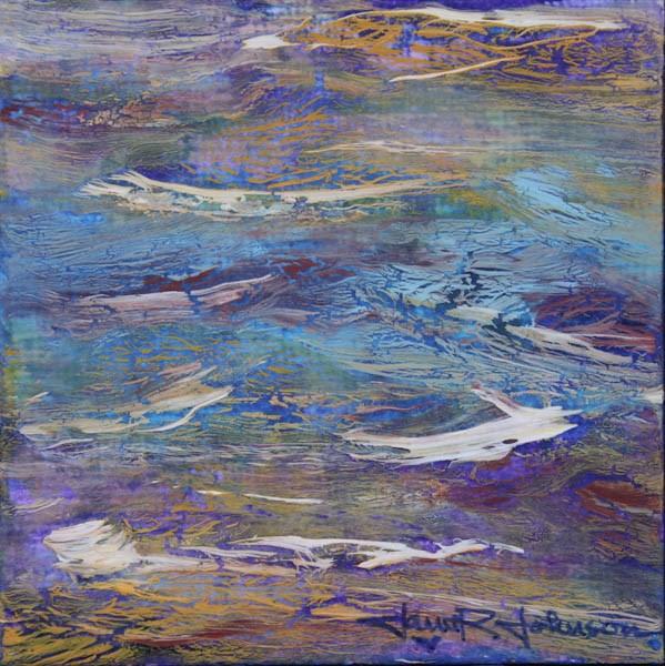 """Aerial Mountain Range"" original fine art by Jana Johnson"