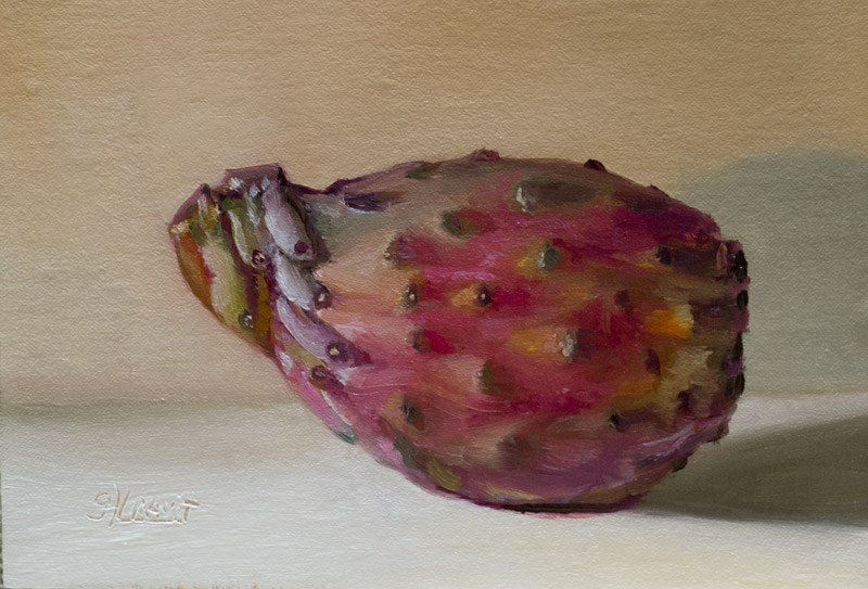 """Prickly Pear"" original fine art by Garry Kravit"