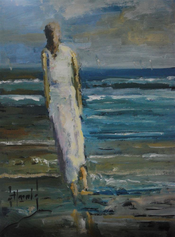 """Wishlist"" original fine art by Deborah Harold"