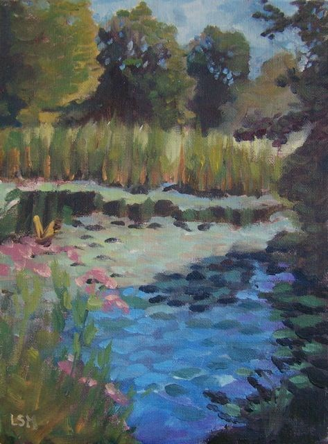 """""""Morning Stillness"""" original fine art by Linda Marino"""