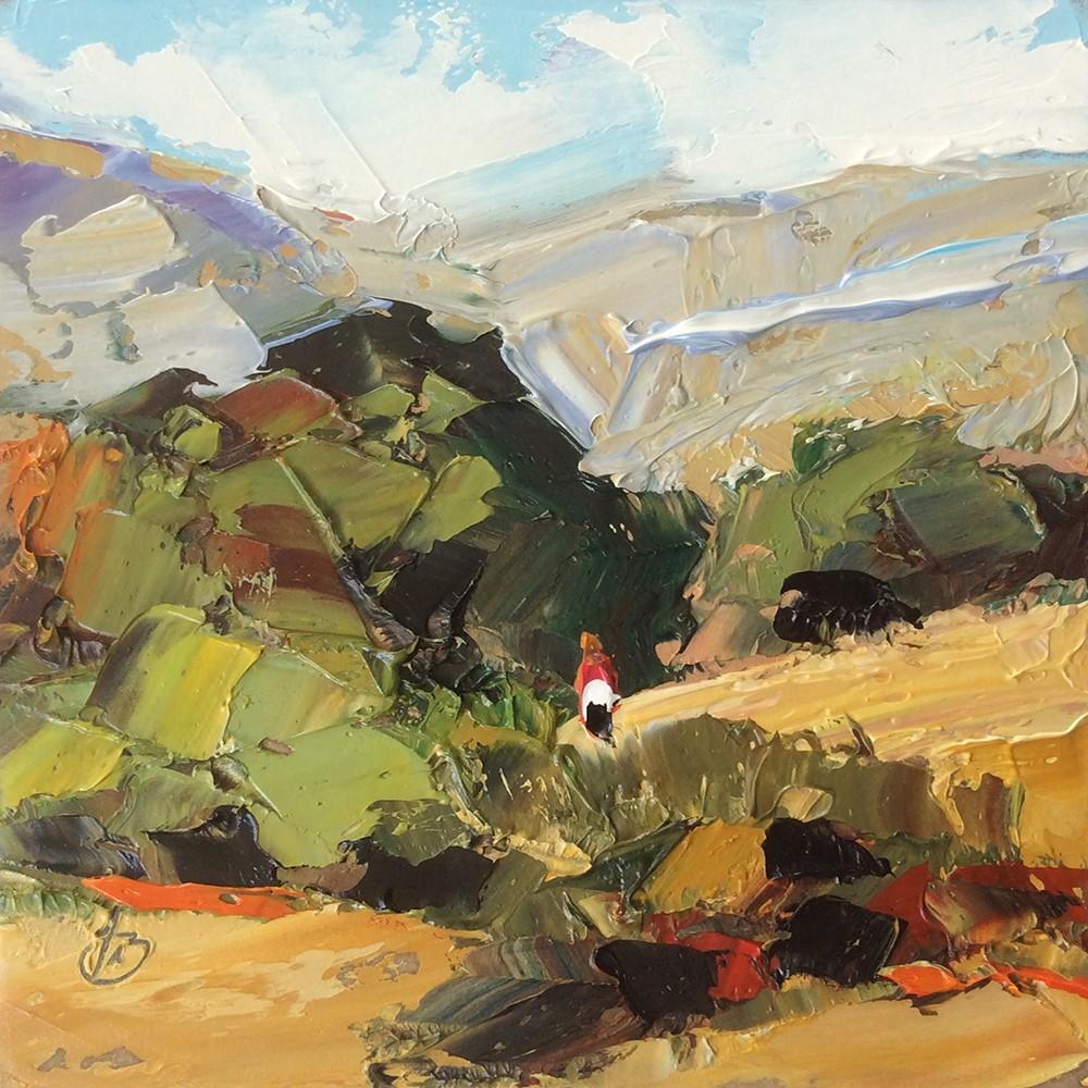 """LAGUNA CANYON"" original fine art by Tom Brown"