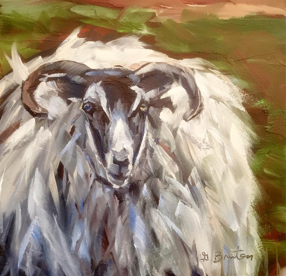 """Woolly"" original fine art by Gary Bruton"