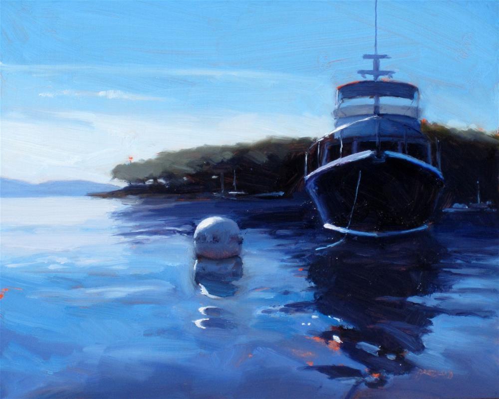 """downeast morning"" original fine art by Dan Graziano"