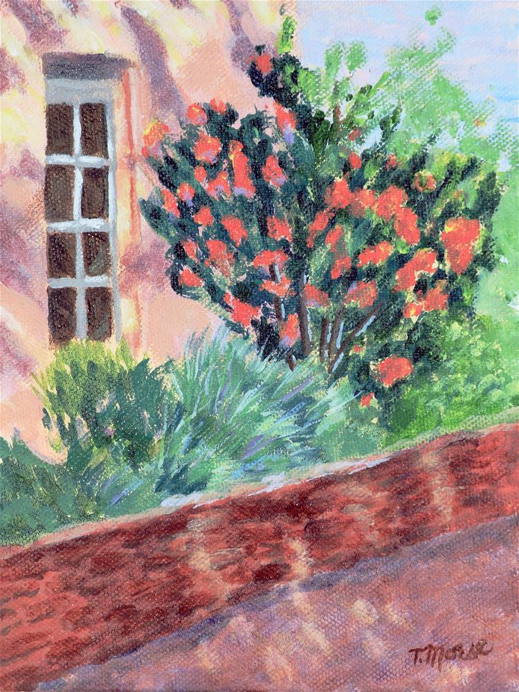 """""""Summer's Fire"""" original fine art by Theresa Morse"""