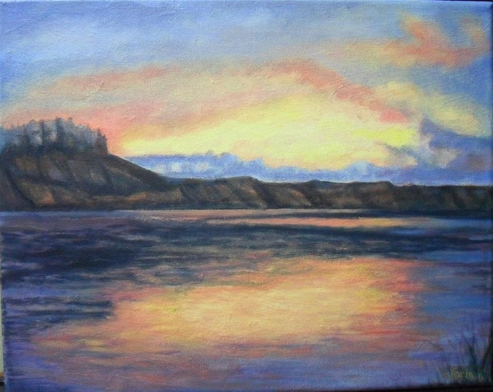 """Montana"" original fine art by Karen Roncari"