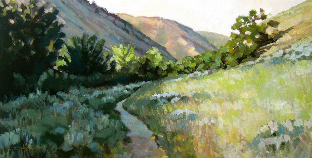 """""""Foothills A.M."""" original fine art by Zack Thurmond"""