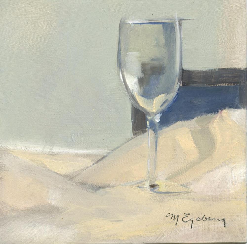 """Glass Study"" original fine art by Mitch Egeberg"