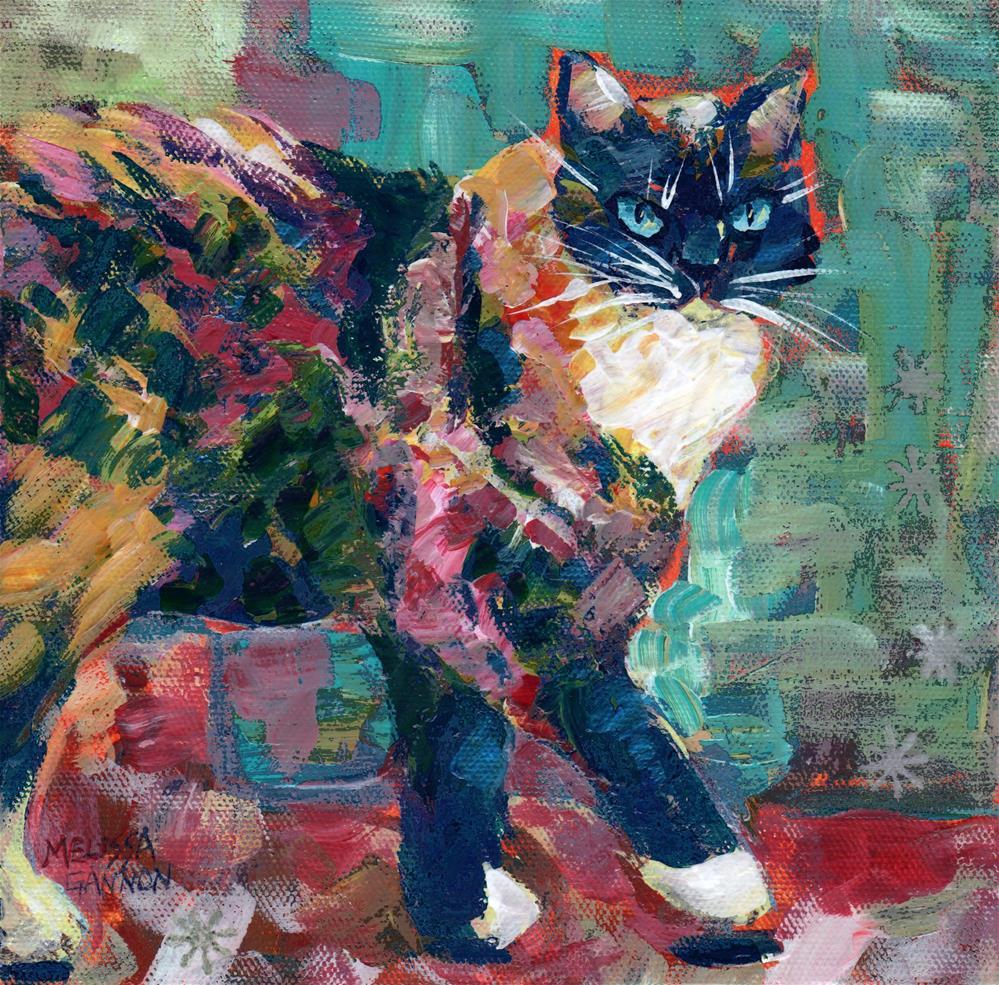 """Steps"" original fine art by Melissa Gannon"