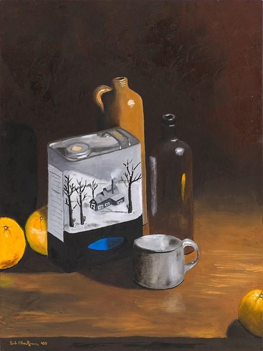 """New York Maple"" original fine art by Bob Blackmon"