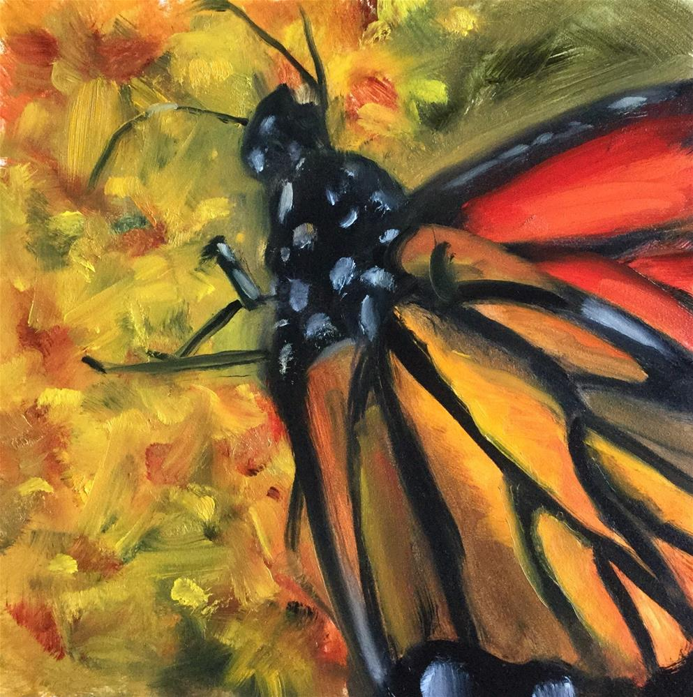 """""""Nature's Stained Glass"""" original fine art by Linda Carney"""