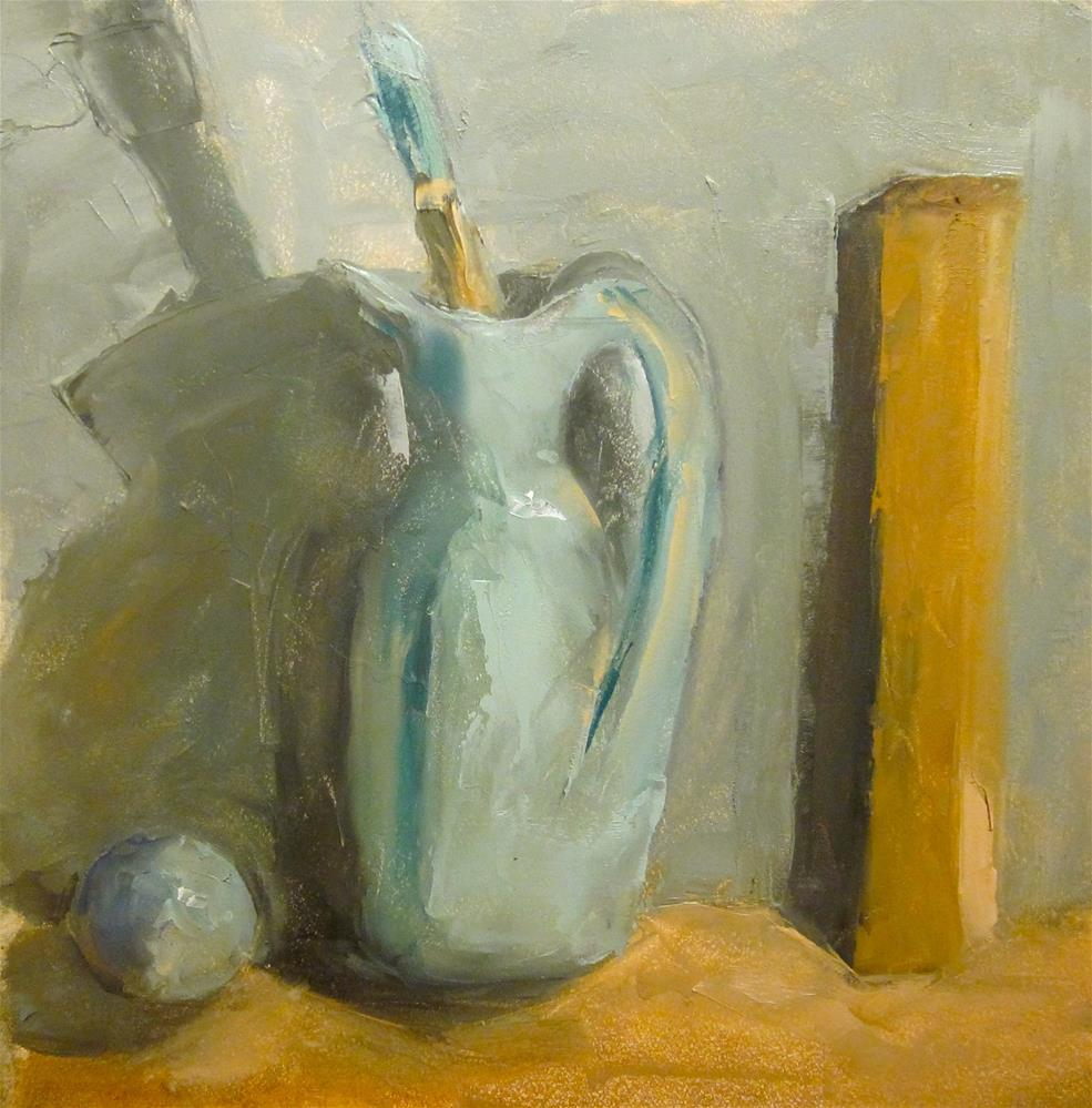 """Paint Brush"" original fine art by Carol Wiley"