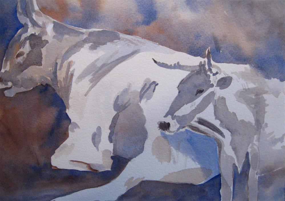 """Patience IV"" original fine art by Judith Freeman Clark"