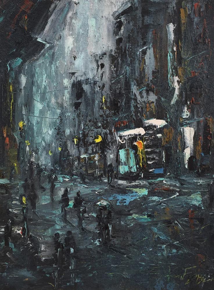 """""""Centro Storico"""" original fine art by Ken Fraser"""