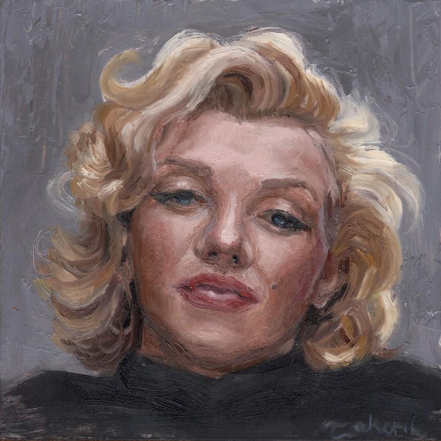 """Marilyn"" original fine art by Tahirih Goffic"