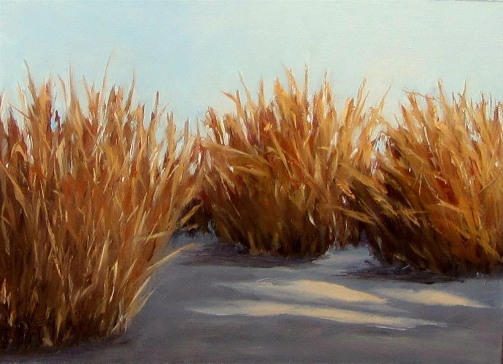 """""""Marsh on the Mud"""" original fine art by Karen Johnston"""
