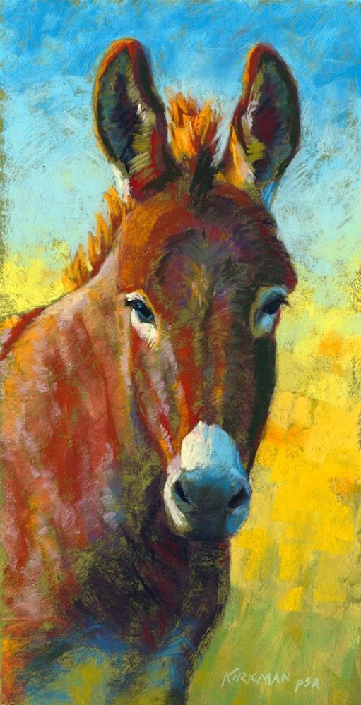 """Don Keanu"" original fine art by Rita Kirkman"