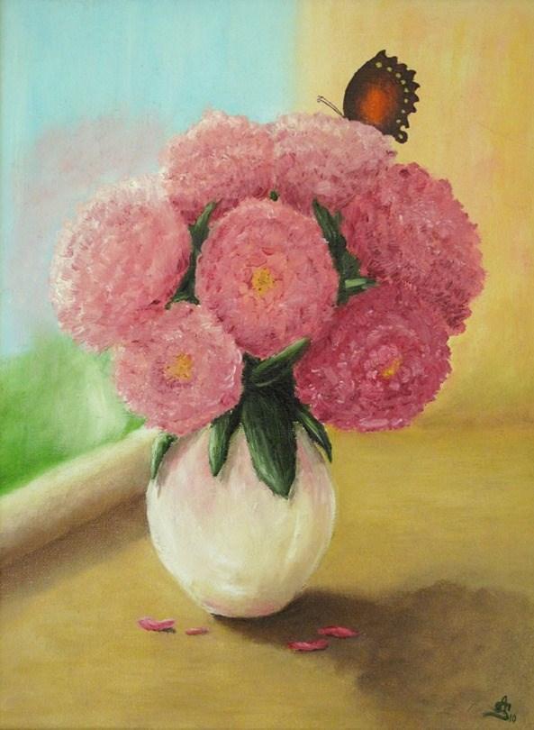 """Peonies"" original fine art by Anna Starkova"