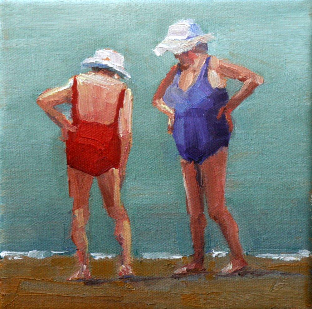 """""""yeah, I think it is a bunion"""" original fine art by Carol Carmichael"""