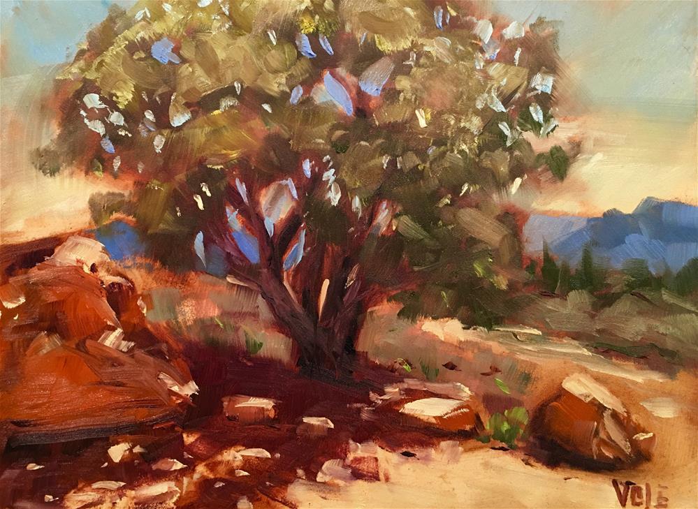"""#306 Desert Days"" original fine art by Patty Voje"