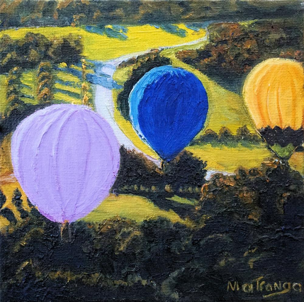 """Magic In The Air"" original fine art by Patricia Matranga"