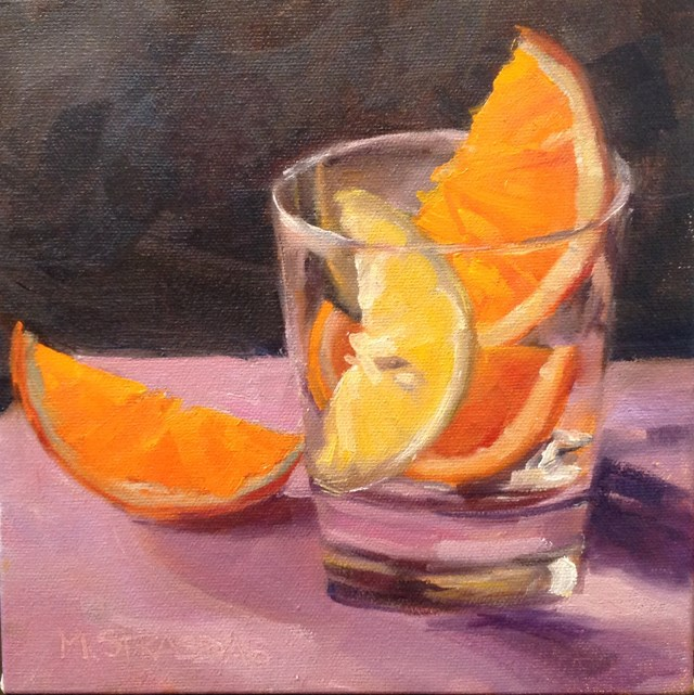 """""""Juicy"""" original fine art by Marcela Strasdas"""