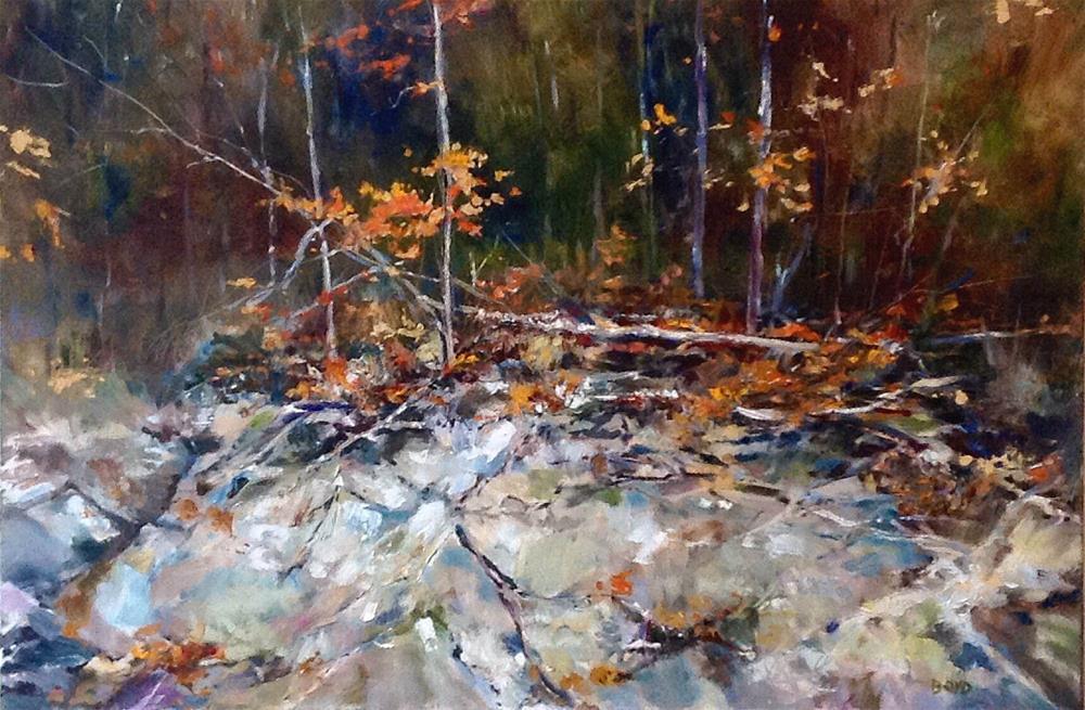 """The Embankment"" original fine art by Cathy Boyd"