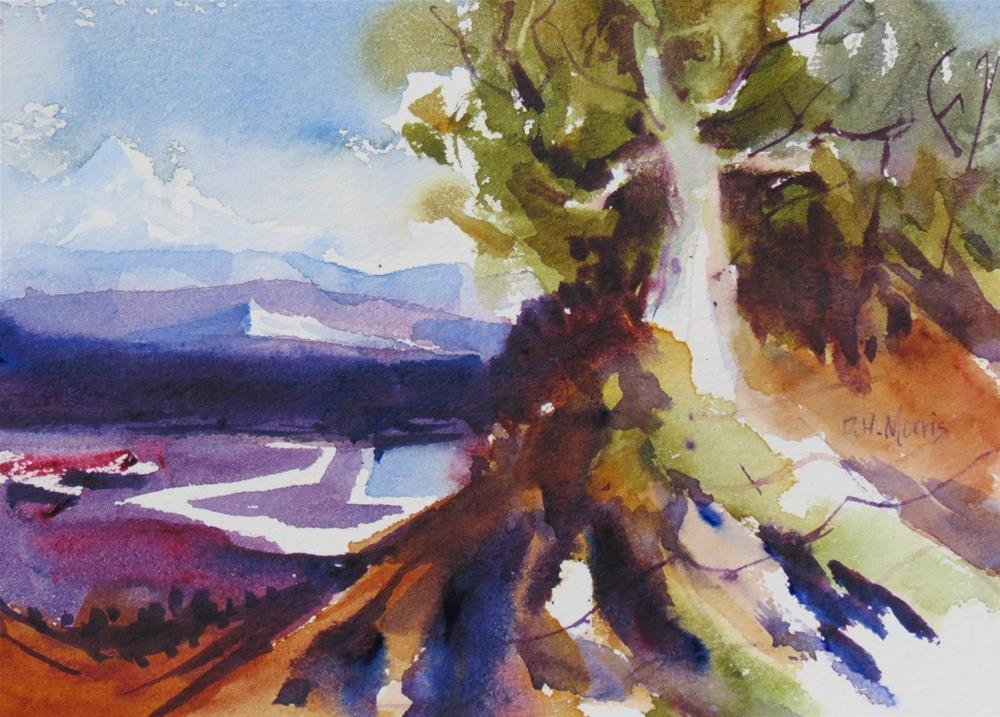 """""""The View from Golden Hill"""" original fine art by Dann Morris"""