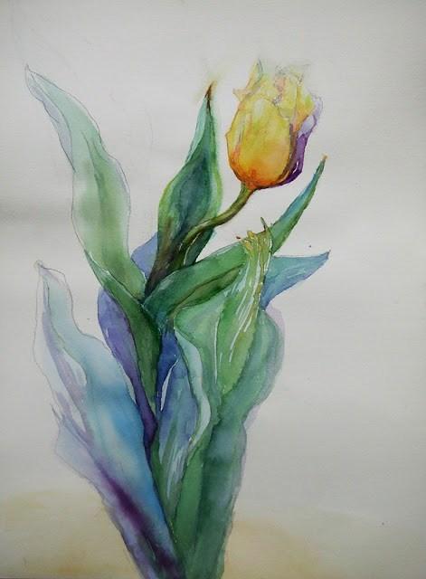 """""""21Mar016"""" original fine art by Mitsuru Cope"""