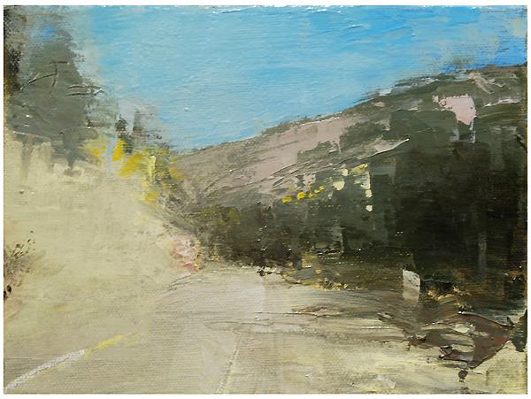 """Utah haze"" original fine art by Steven Goodman"