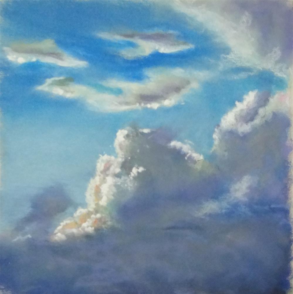 """Sky #4"" original fine art by Denise Beard"