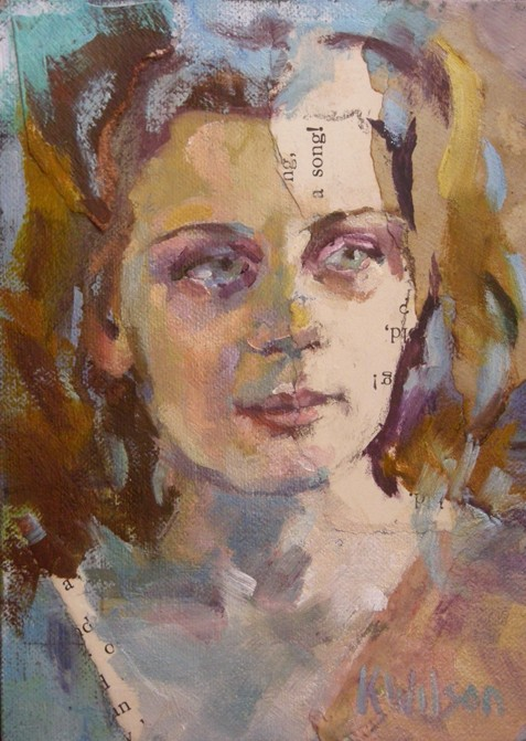 """Remembering"" original fine art by Katie Wilson"