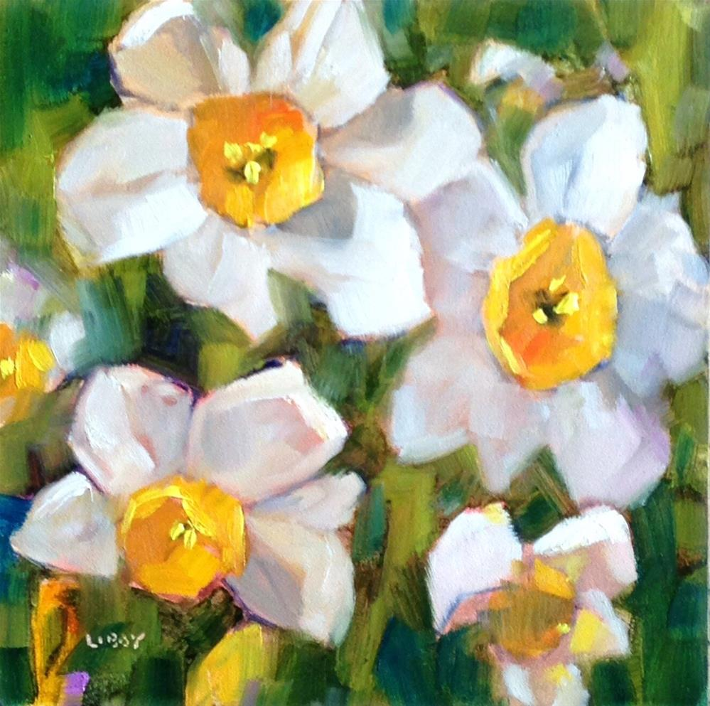 """""""Early Spring"""" original fine art by Libby Anderson"""