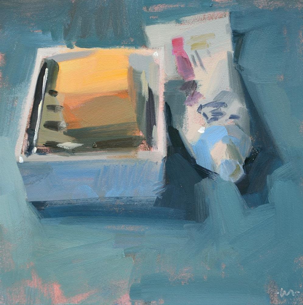 """""""Hygiene"""" original fine art by Carol Marine"""