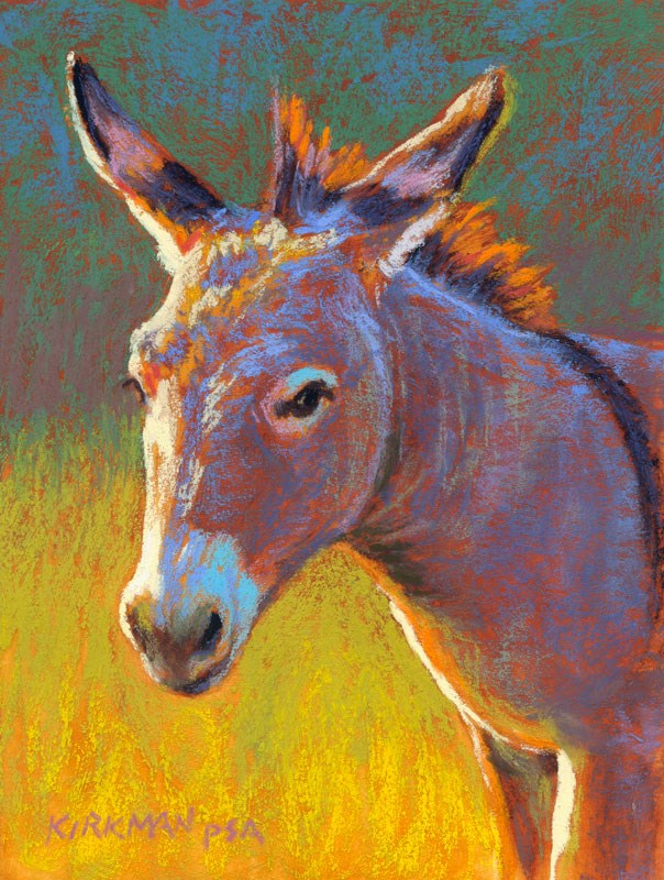"""Don Keemauv"" original fine art by Rita Kirkman"
