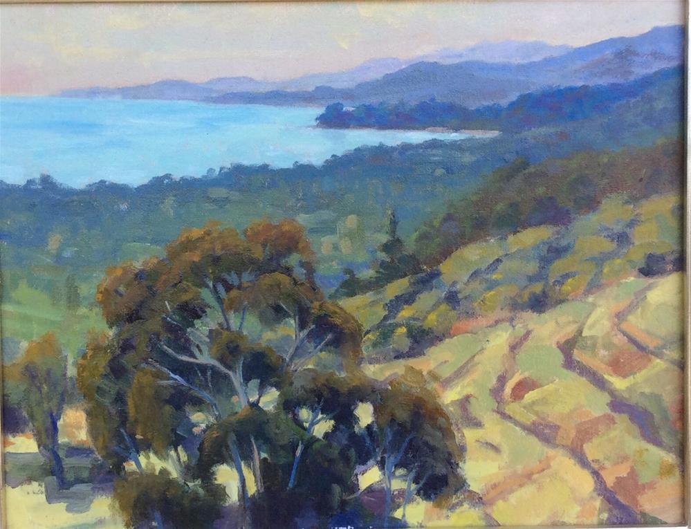 """Ranch View"" original fine art by Leigh Alexandra Sparks"