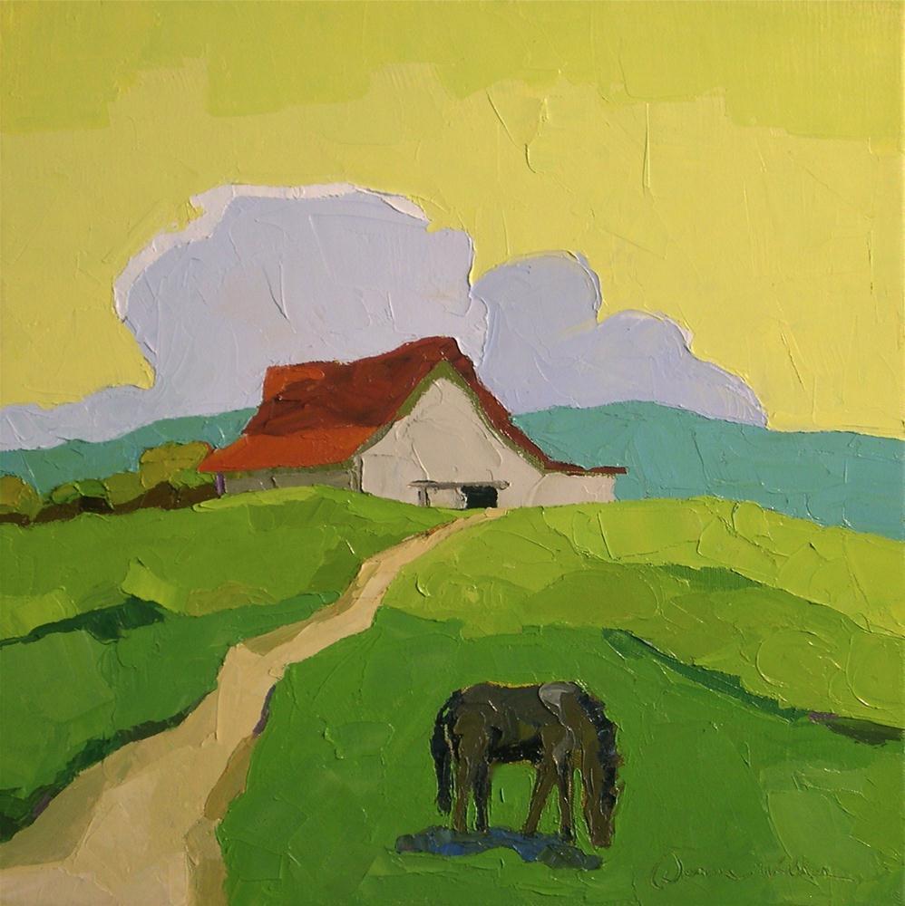 """I Know This Land"" original fine art by Donna Walker"
