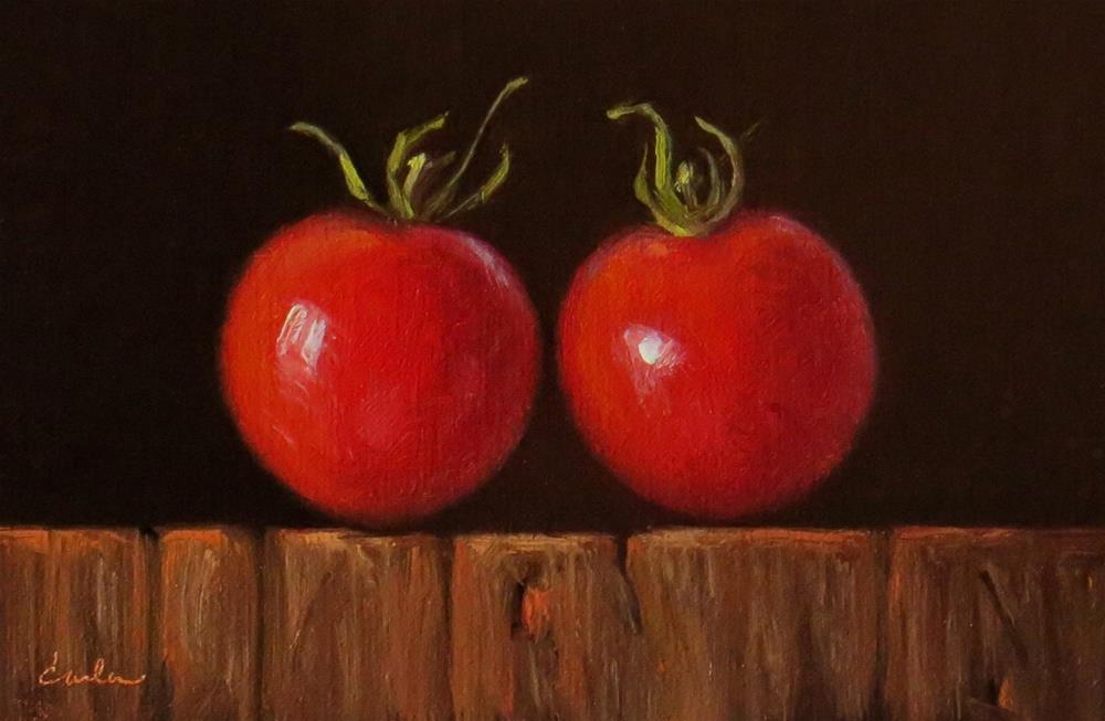 """""""Sweet Couple"""" original fine art by Darla McDowell"""