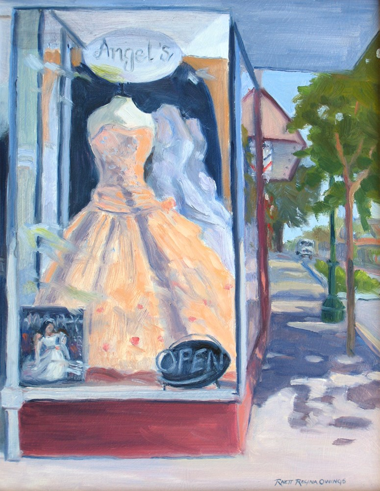 """Prom Dress"" original fine art by Rhett Regina Owings"