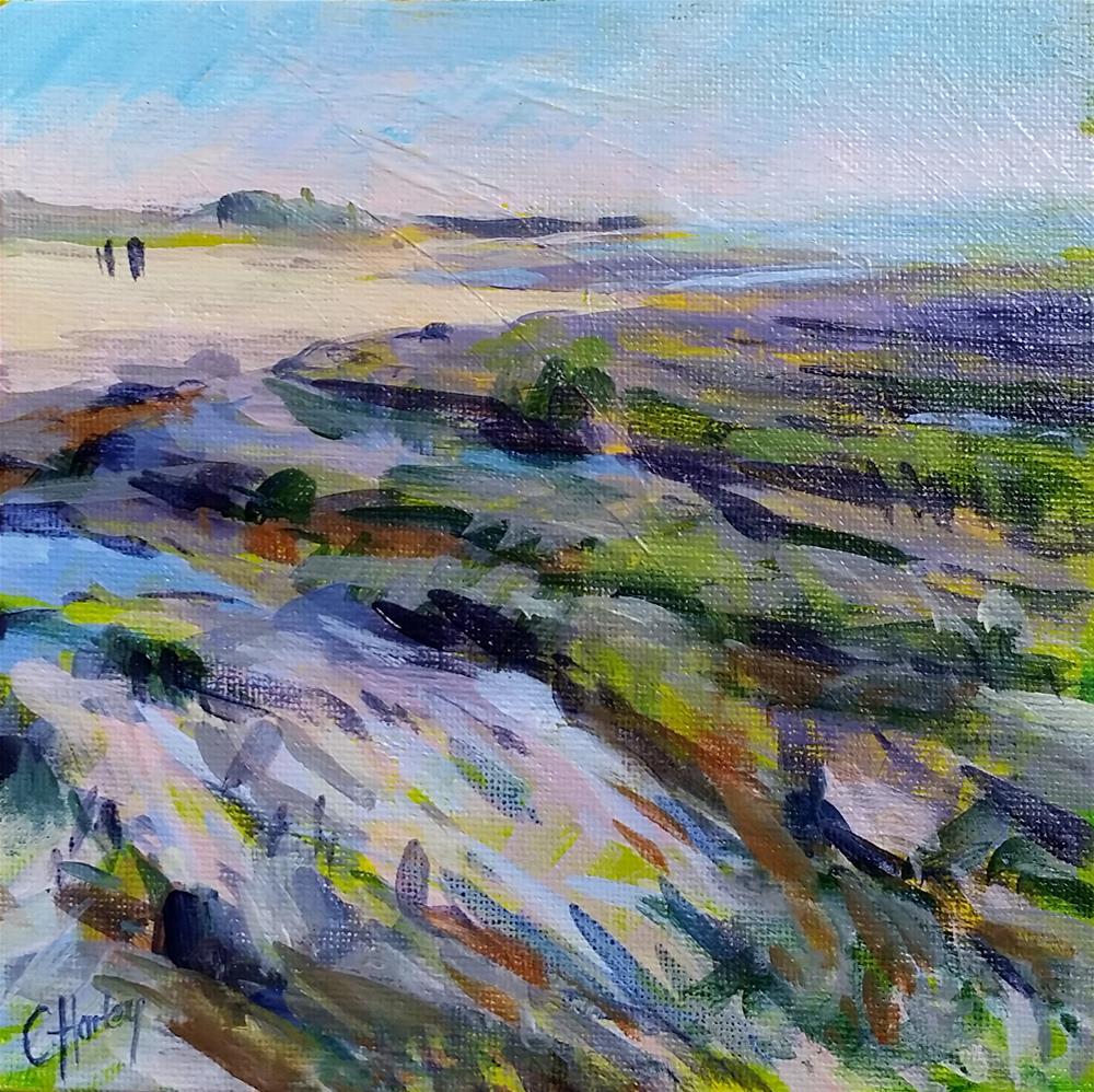 """Seascape n°1"" original fine art by Catherine Harley"