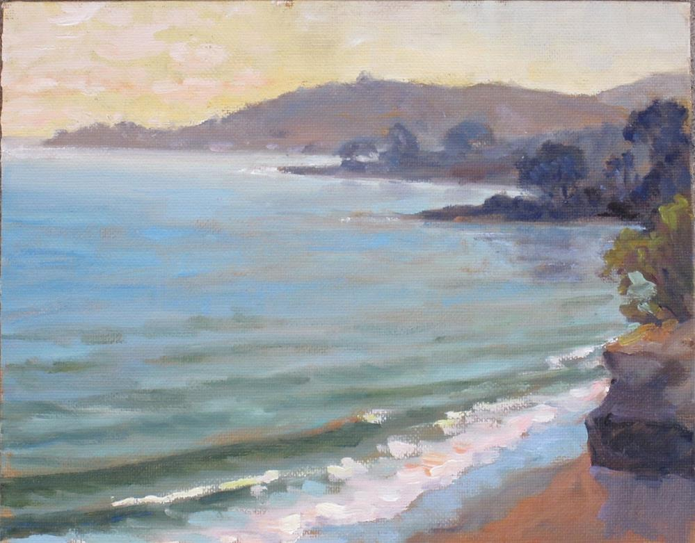 """Monticito Mist"" original fine art by Leigh Alexandra Sparks"